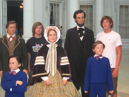 abe lincoln family. Abraham Lincoln Memorial